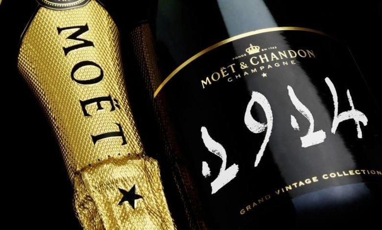 Colecția Moët & Chandon Grand Vintage Champagnes vândută la licitație