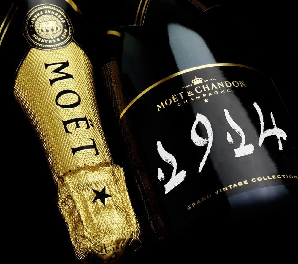 1914 Moet Chandon Grand Vintage Collection e1392219126835 - Colecția Moët & Chandon Grand Vintage Champagnes vândută la licitație