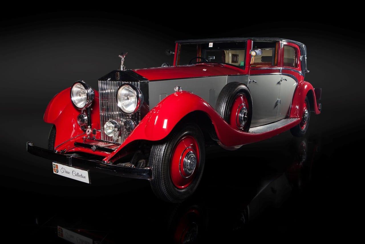 1934 Rolls Royce Phantom II - Țiriac Collection – prima galerie auto personală deschisă publicului din România