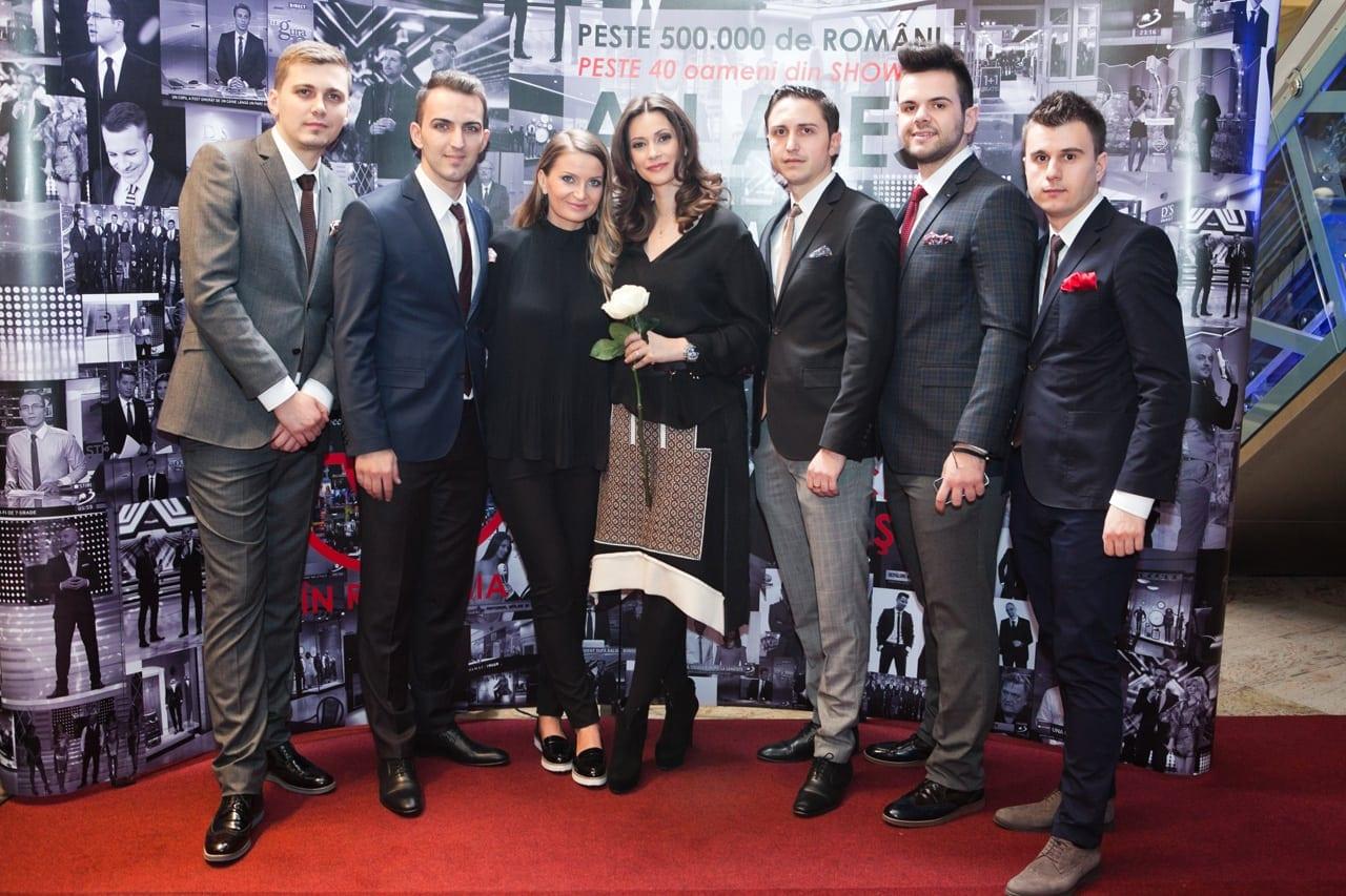 Andreea Berecleanu si echipa Damat