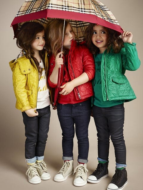 Burberry kids2 - Shoes for glamorous kids