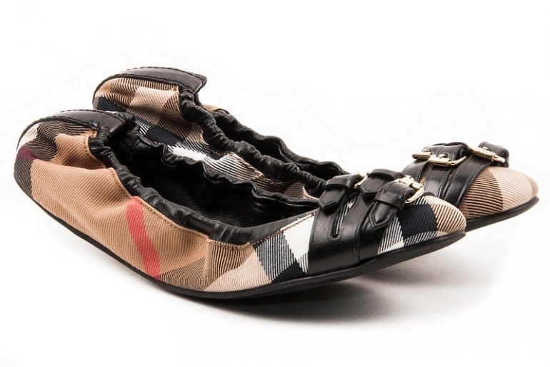 Burberry1 770x515 - Shoes for glamorous kids