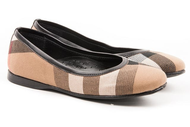 Burberry4 - Shoes for glamorous kids