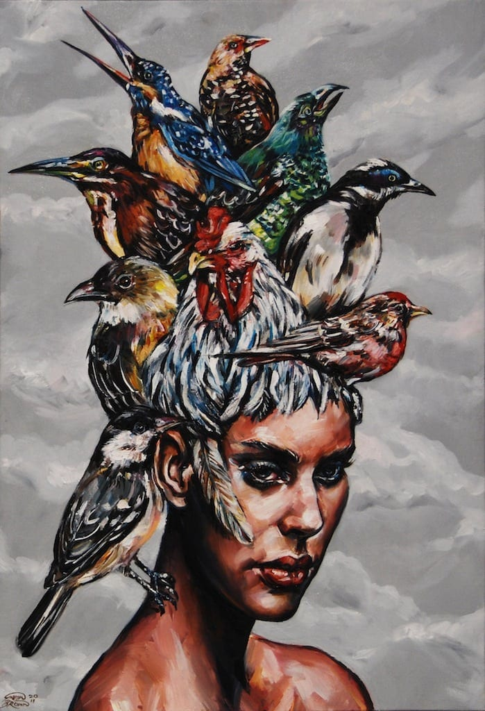 Gavin Brown 2011 Bird Hair