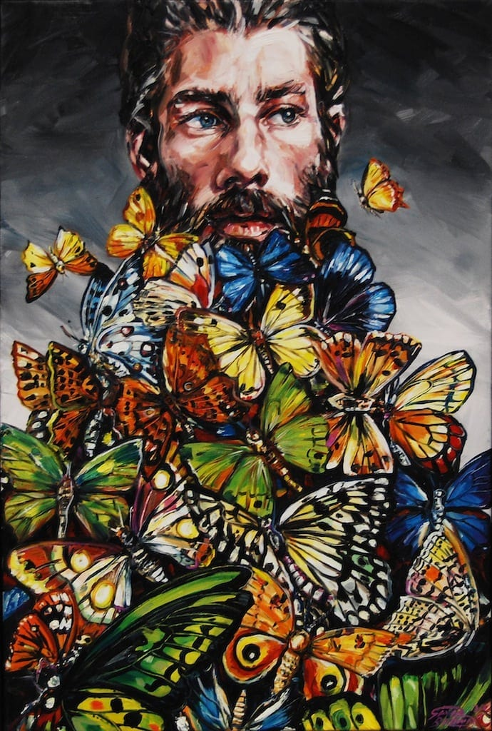 Gavin Brown 2011 Butterfly Beard