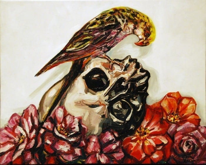 Gavin Brown 2011 Parrot and Skull