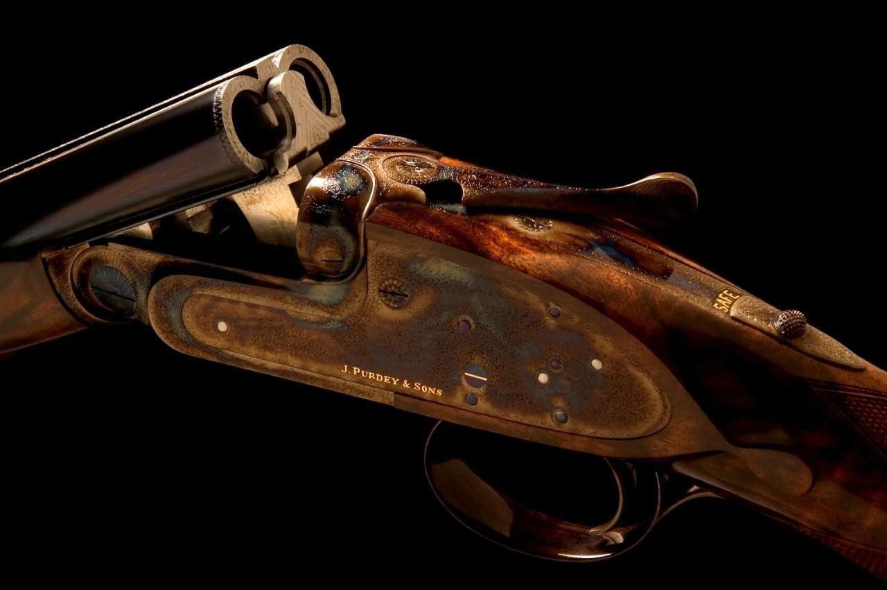 Purdey 410 gun - Armele de vânătoare marca Purdey & Sons, preferatele Familiei Regale Britanice
