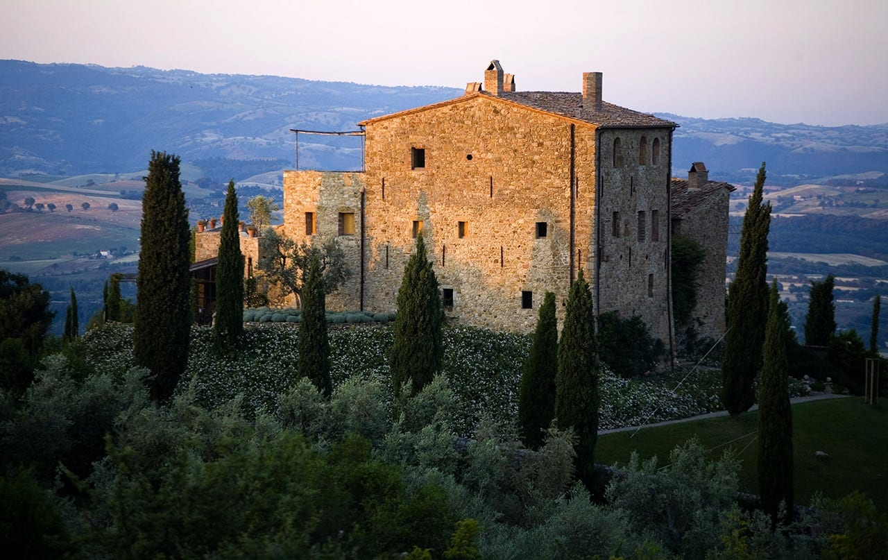 castello di vicarello dawn001