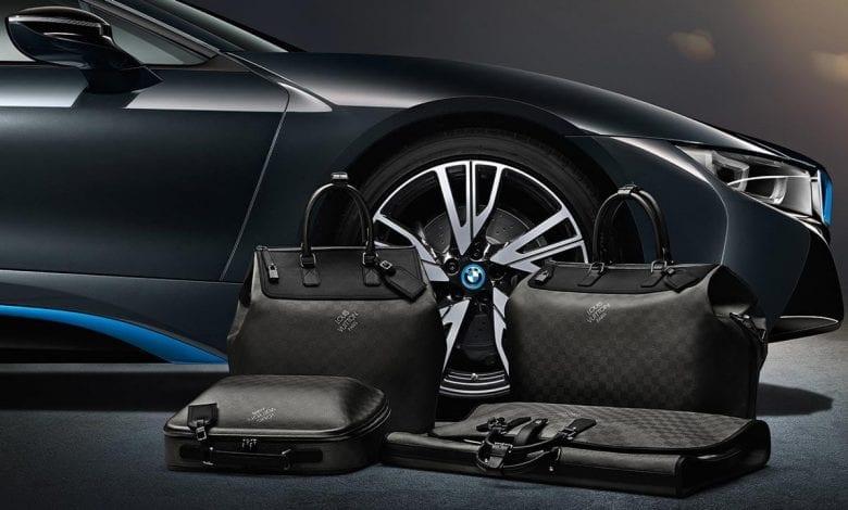 Louis Vuitton creează o colecţie specială de genți pentru BMW i8