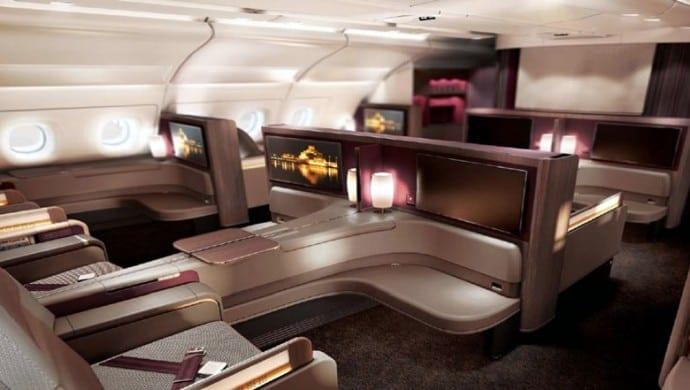 Qatar Airways inaugurează o nouă configurație A380
