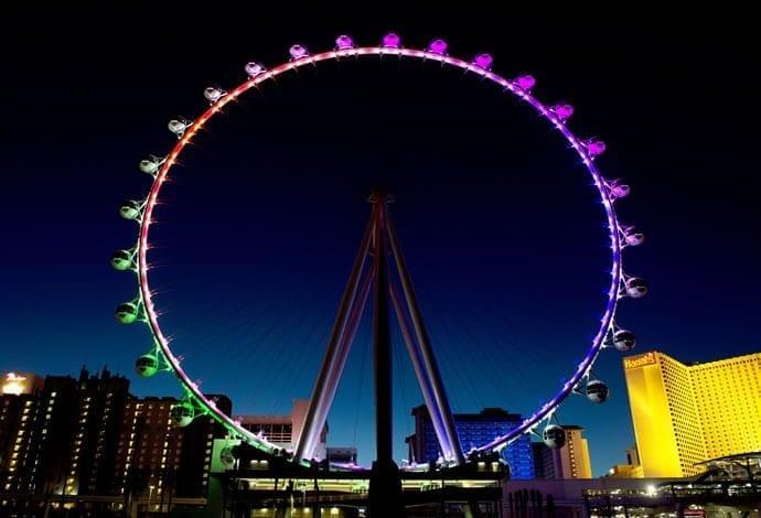 Cea mai înaltă roată de agrement din lume, inaugurată în Las Vegas