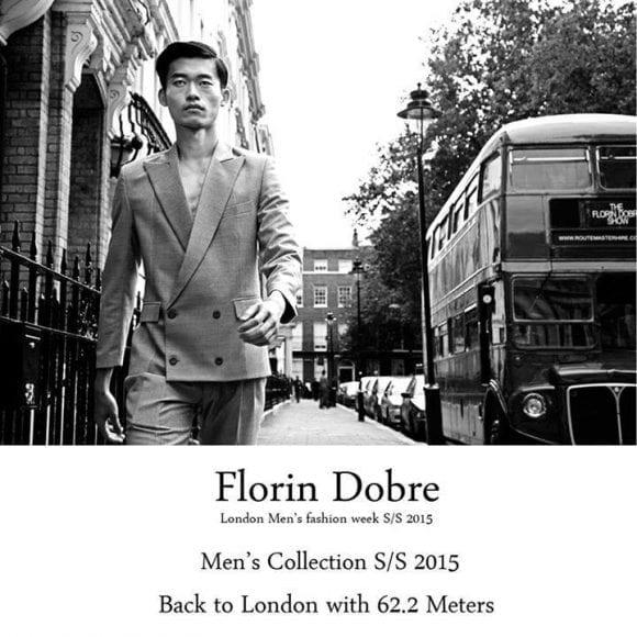 Moda românească direct din inima Londrei – Florin Dobre!
