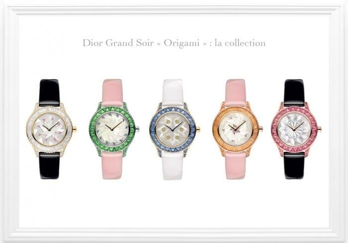 Origami, inspirația noii colecții Dior Grand Soir