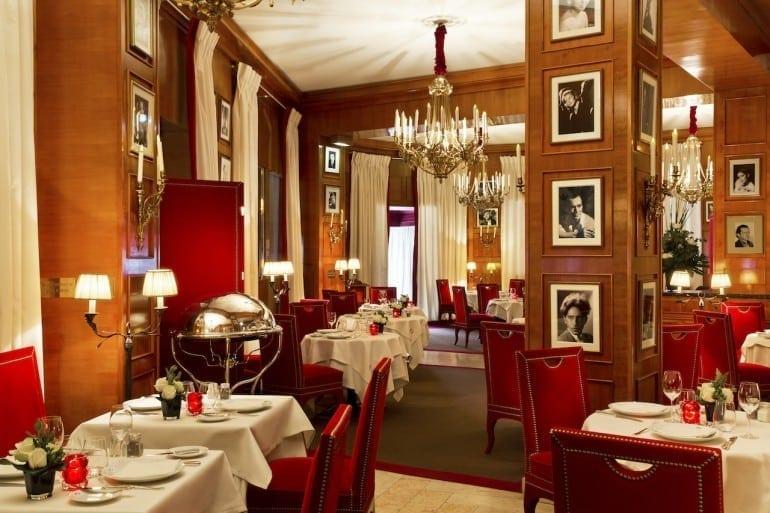 Fouquets restaurant 1 770x513 - Fouquet's Barriere Paris - Excelență în cultura pariziană