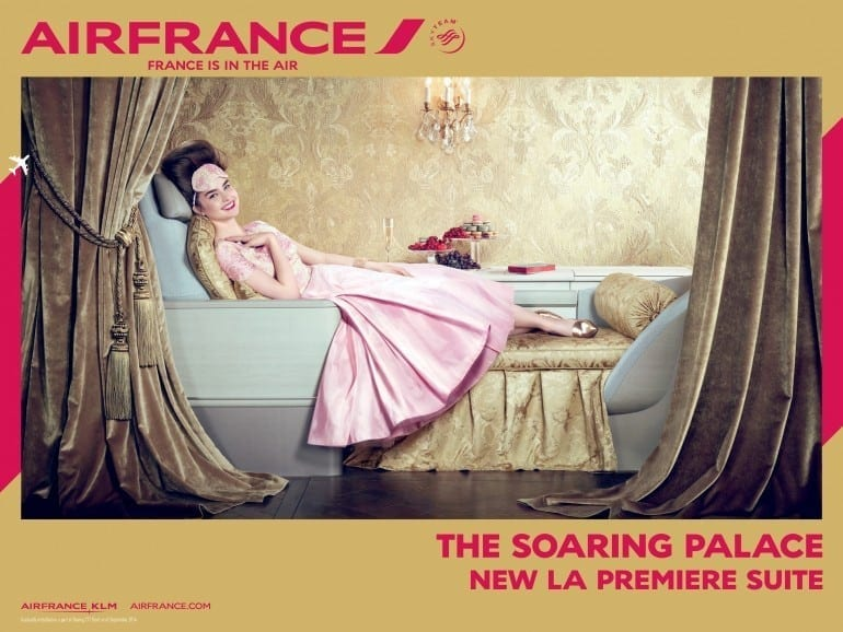 """France is in the air La Premiere suite 01 770x578 - """"Air France, France is in the air"""""""