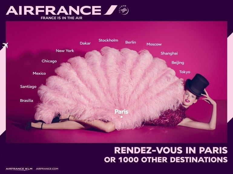 """France is in the air Network 770x578 - """"Air France, France is in the air"""""""