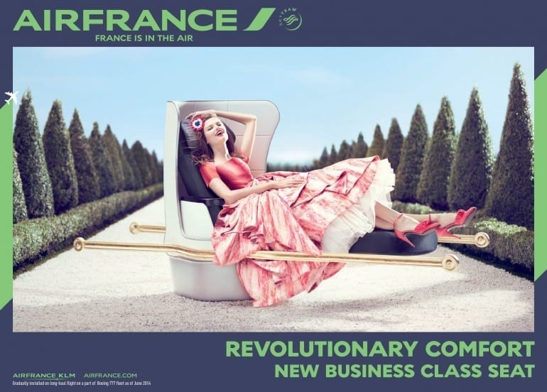 """France is in the air New business class seat 01 770x552 - """"Air France, France is in the air"""""""