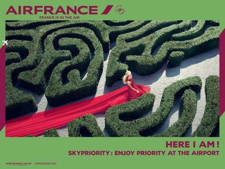 """France is in the air SkyPriority EN 01 770x578 - """"Air France, France is in the air"""""""