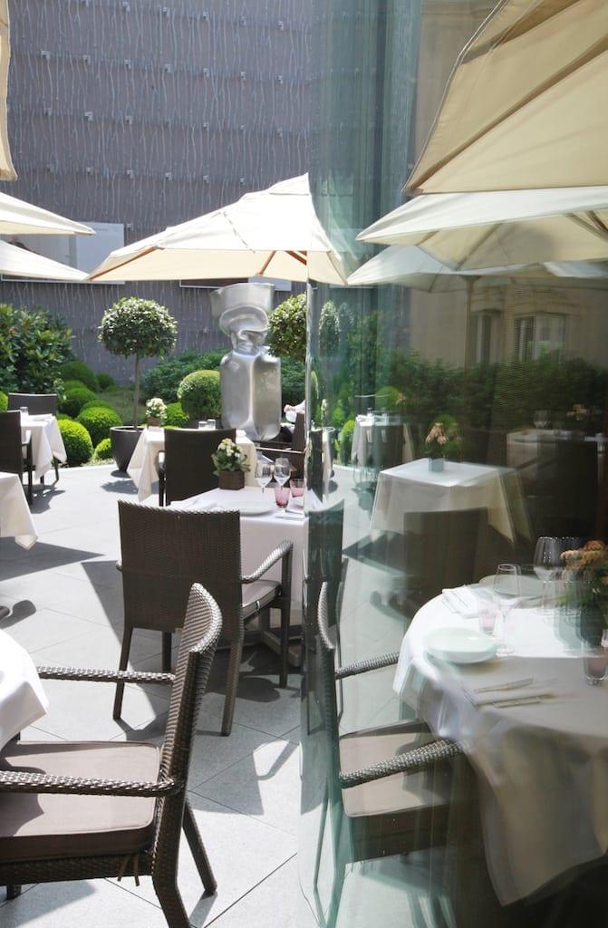 Hôtel Fouquets Barrière Le Jardin HD 6 - Fouquet's Barriere Paris - Excelență în cultura pariziană