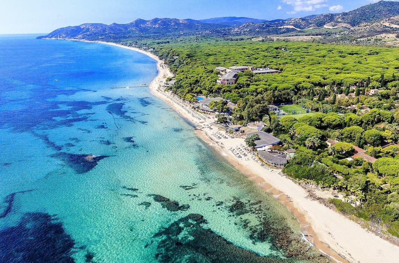 beach front1 - Forte Village Resort Sardinia