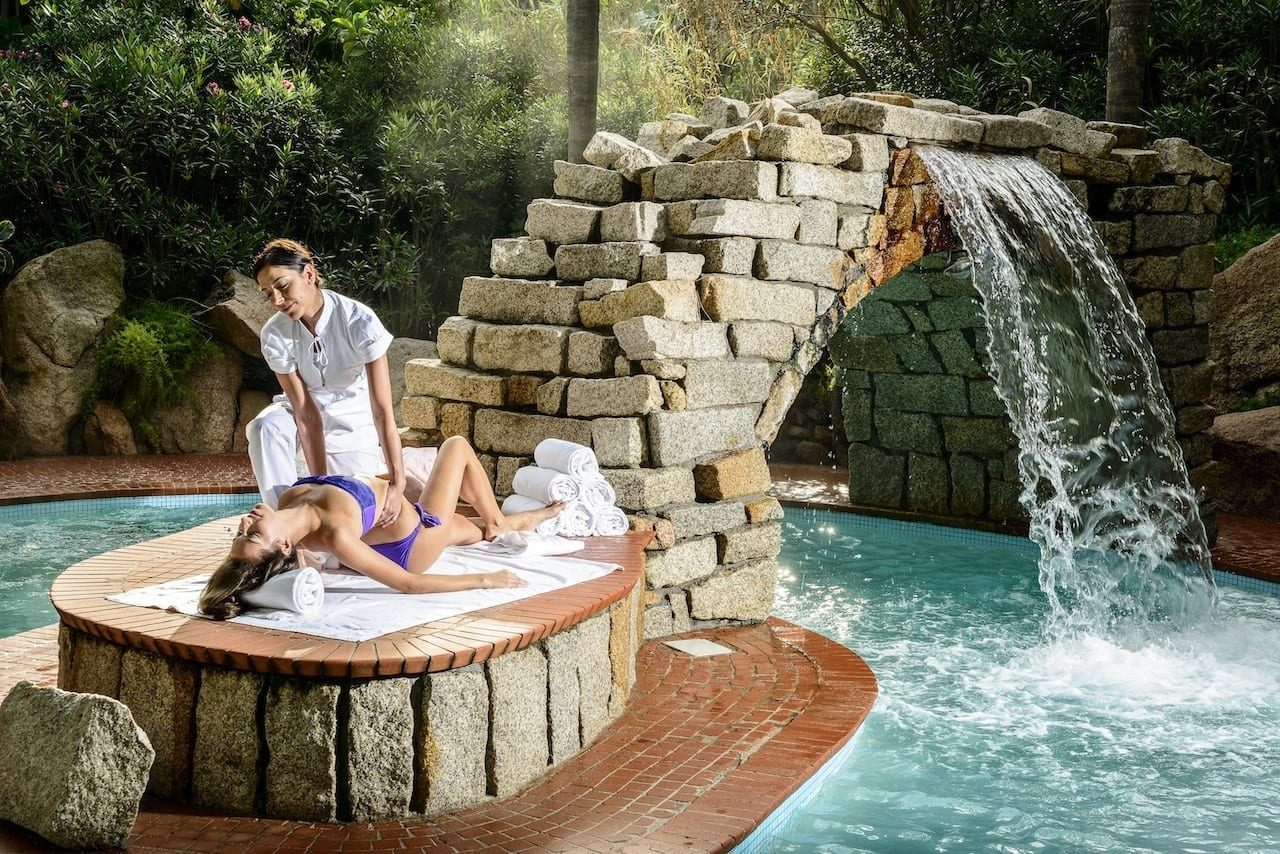 spa treatment - Thalasso del Forte Village, singurul Spa de thalassoterapie din Europa