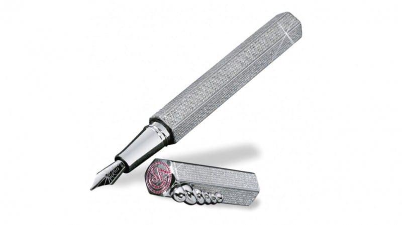 Caran d'Ache made 'La Modernista Diamonds' 800x449 - Cel mai scump stilou din lume: La Modernista Diamonds