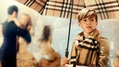 From London with Love, noua campanie Burberry