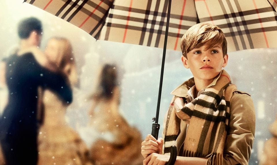 BURBERRY - From London with Love, noua campanie Burberry