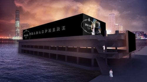 PradaSphere într-o expoziție de excepție la Hong Kong