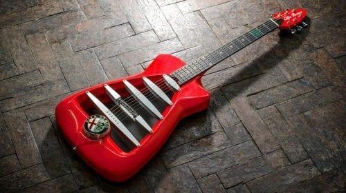 Ediție limitată: chitară de inspirație Alfa Romeo