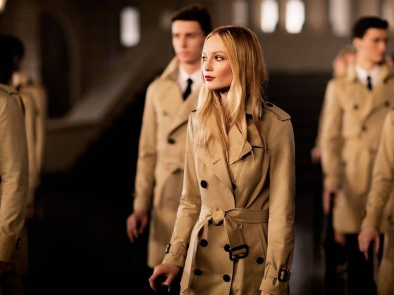 burberry3 770x578 - From London with Love, noua campanie Burberry