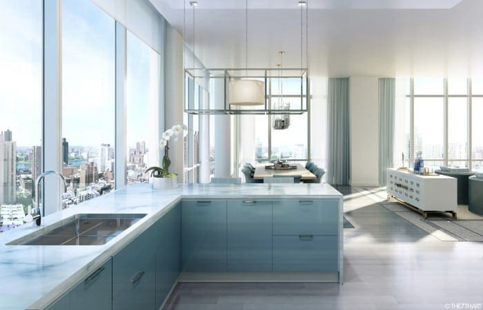 ledaean architecture charles 08 tc kitchen view 1 700x450 - The Charles - Un tur privat al New York-ului
