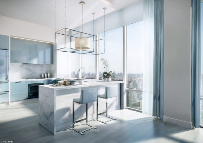 ledaean architecture charles 09 tc kitchen view 2 700x492 - The Charles - Un tur privat al New York-ului