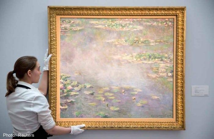 """Nympheas reuters 1 700x455 - """"Nuferii"""" lui Claude Monet, vânduți pentru 40 milioane de euro"""