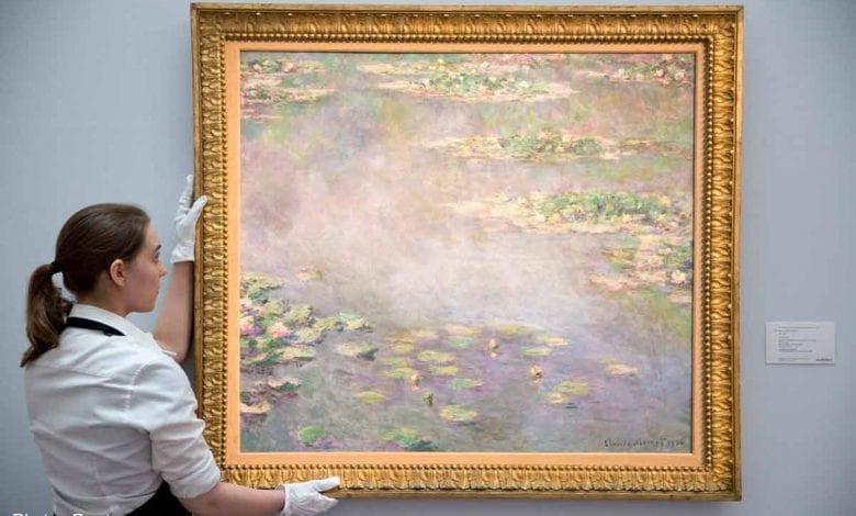 """""""Nuferii"""" lui Claude Monet, vânduți pentru 40 milioane de euro"""