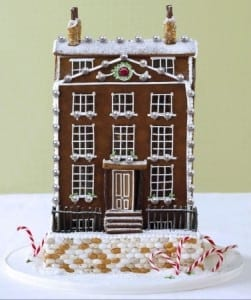 The Most Precious Christmas Gingerbread House Ever Created In The Likeness Of Your Own Home Adorned With Pearls And A Ruby 251x300 - Cea mai scumpă casă de turtă dulce din lume