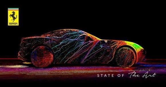 Ce se întâmplă când vopseaua UV și un Ferrari California T se întâlnesc la 240 km/h?