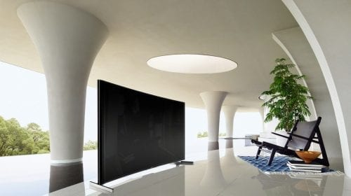 Perfect curbat. Imagine perfectă. BRAVIA S90