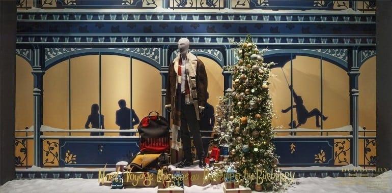 DSC94342 770x380 - Crăciunul, o călătorie magică cu Burberry şi Printemps