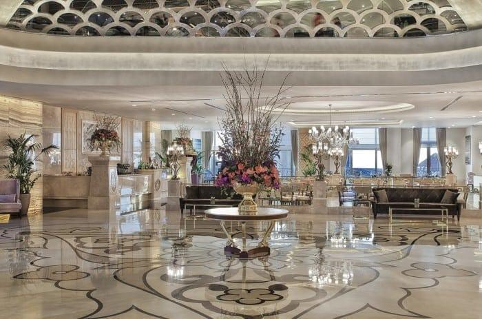 Lobby 700x463 - Park Bosphorus Hotel Istanbul - reînvie spiritul și tradiția Imperiului Otoman