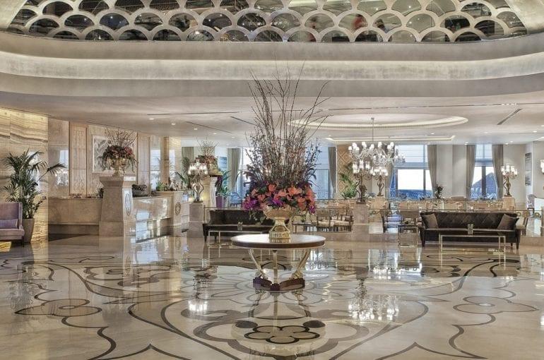 Lobby 770x510 - Park Bosphorus Hotel Istanbul - reînvie spiritul și tradiția Imperiului Otoman