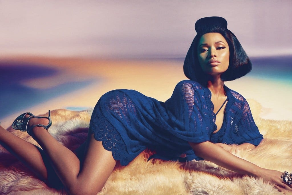 Nicki Minaj for Roberto Cavalli Spring SUmmer 2015 005 - #NickiForCavalli