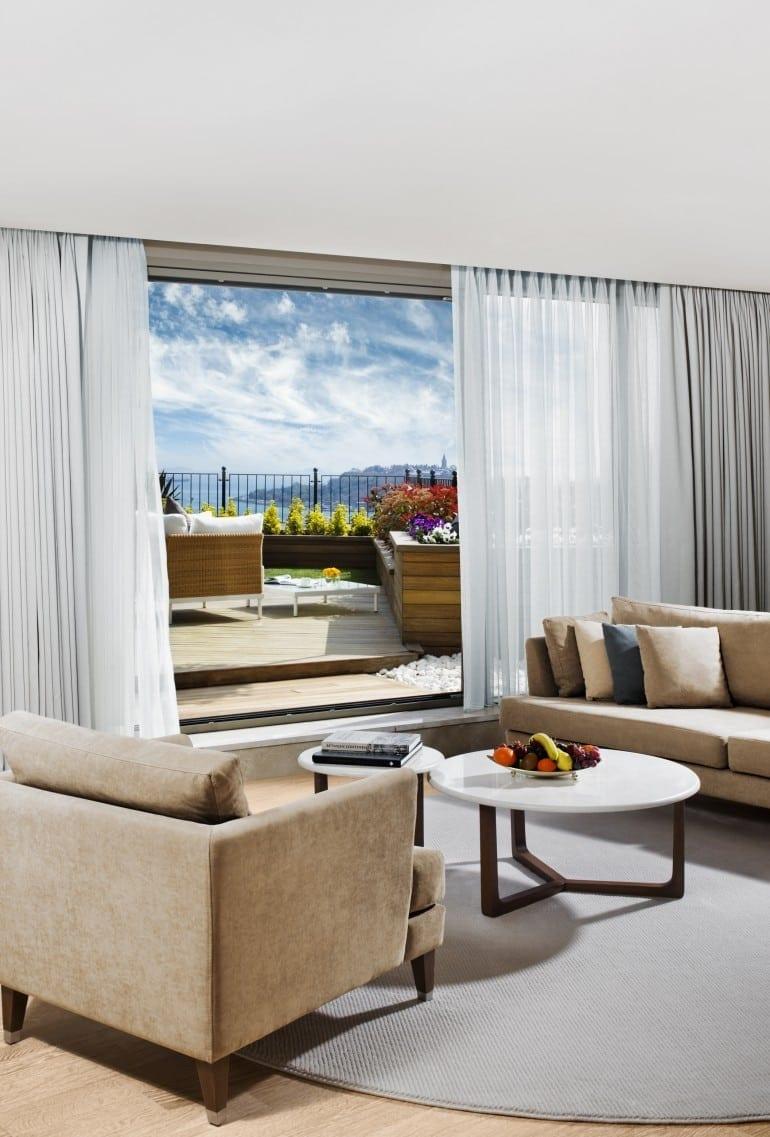 Park Prestige Suites Teras 770x1137 - Park Bosphorus Hotel Istanbul - reînvie spiritul și tradiția Imperiului Otoman