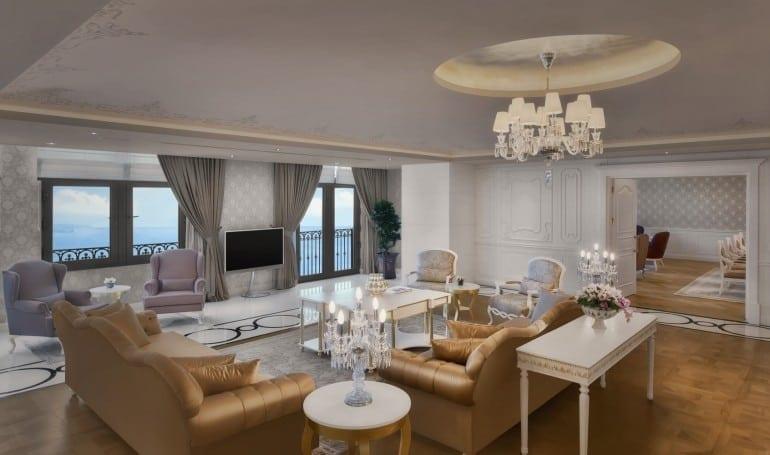 Presidential Suite Piyano Salonu 770x455 - Park Bosphorus Hotel Istanbul - reînvie spiritul și tradiția Imperiului Otoman