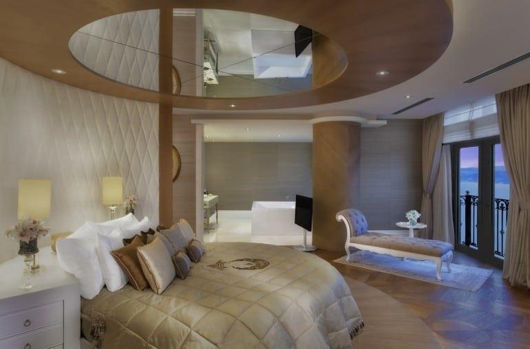 Presidential Suite yatak odas ¦ 770x508 - Park Bosphorus Hotel Istanbul - reînvie spiritul și tradiția Imperiului Otoman