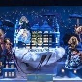 Vitrine inaugurée 170x170 - Crăciunul, o călătorie magică cu Burberry şi Printemps