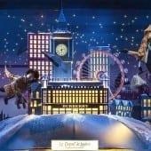 vitrine au printemps 170x170 - Crăciunul, o călătorie magică cu Burberry şi Printemps