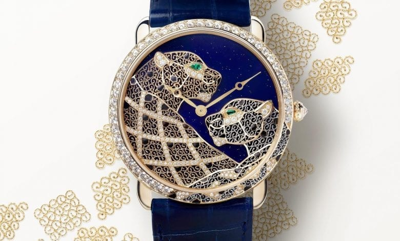 Cartier Ronde Louis Cartier Filigree