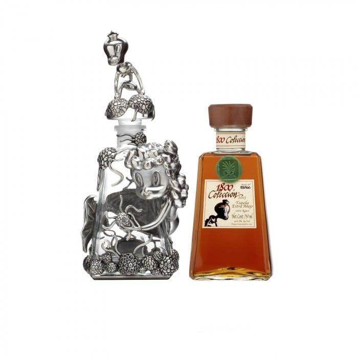 1800 ExtraAnejoDecanter F silo 700x700 - 1800 prezintă Colección Tequila – o licoare în ediție limitată, în valoare de 1.780 euro sticla