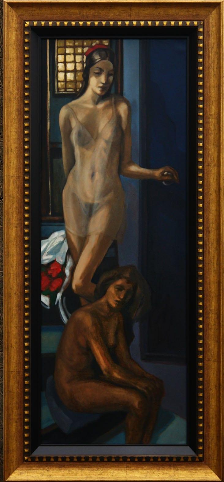"""2 Femei Matei Serban - ArtXpert București prezintă: Matei Șerban """"Exquisite Works"""""""